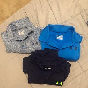 Boys Underarmor Shirts!!